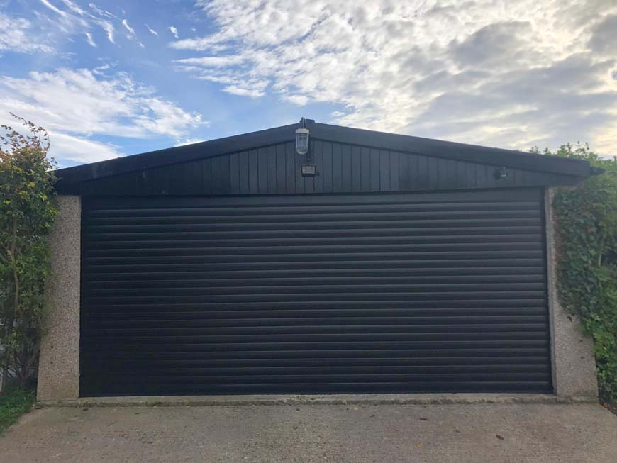 Are roller garage doors secure