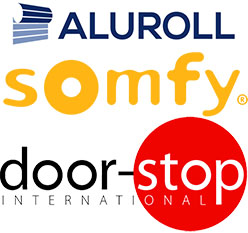 Somfy Aluroll and Doorstop